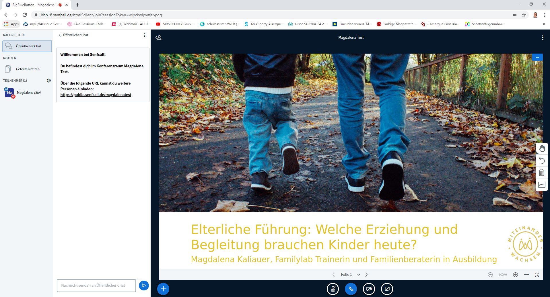 Online Vortrag für Eltern von Magdalena Kaliauer